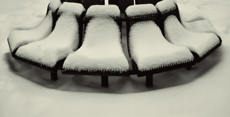 Bench in the snow #2
