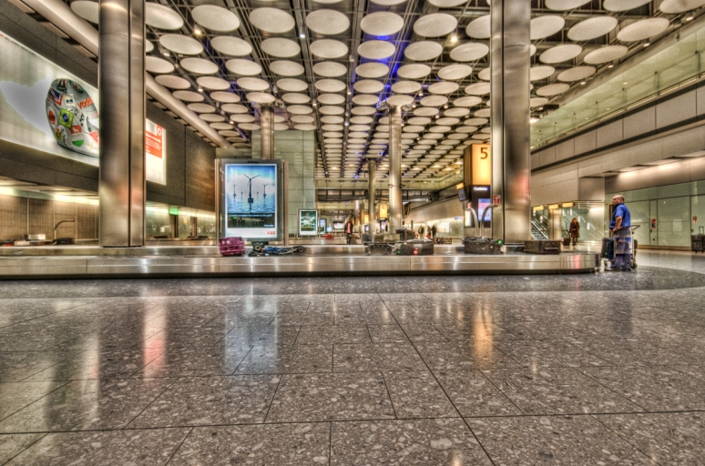 London Heathrow Terminal 5 Baggage Reclaim Hall