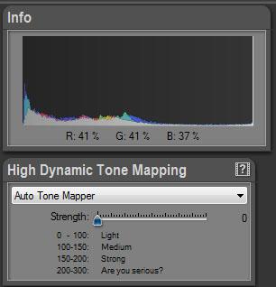 Auto Tone Mapping