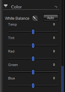 Color Panel Controls