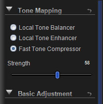 Fast Tone Compressor Control