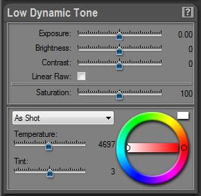 Low Dynamic Tone Panel