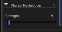 Noise Reduction Control