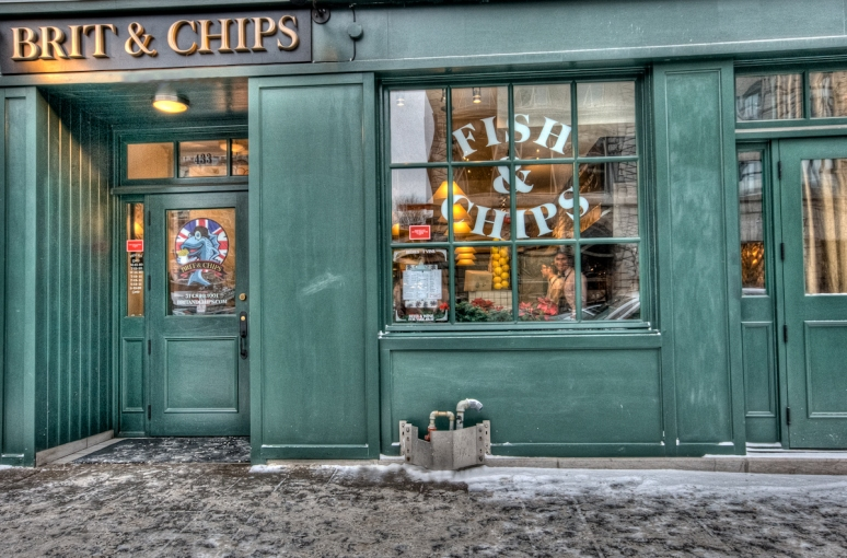 Brit and Chips on McGill Street