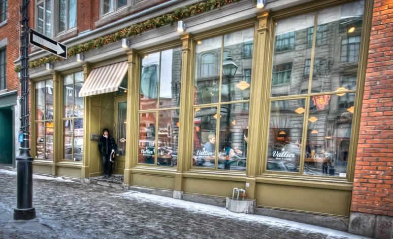 Restaurant Vallier on McGill street
