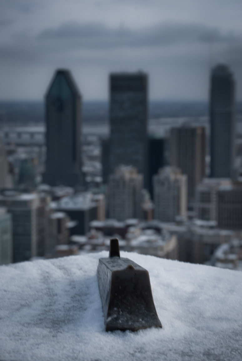 Downtown Montreal from Mont-Royal