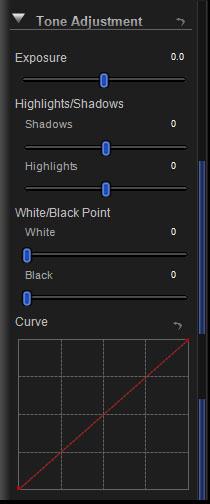Tone Adjustment Controls