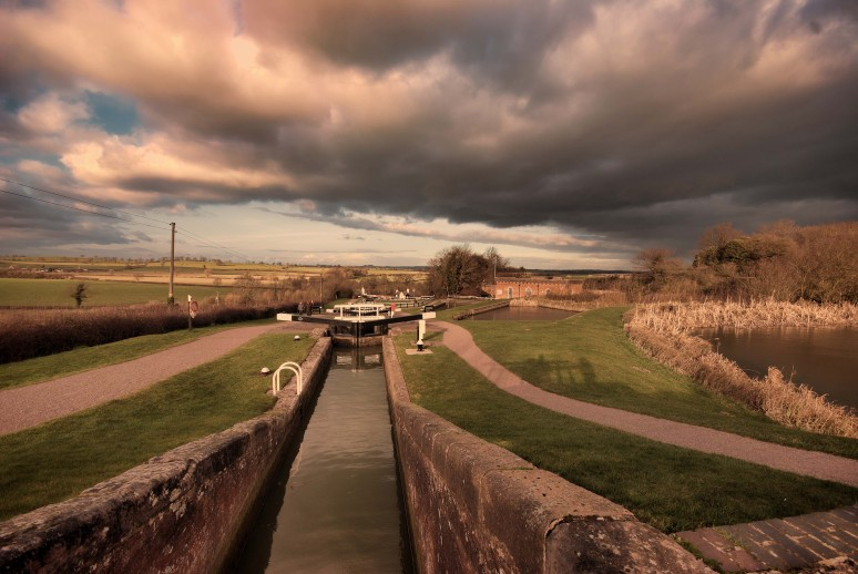 Foxton Locks Leicestershire