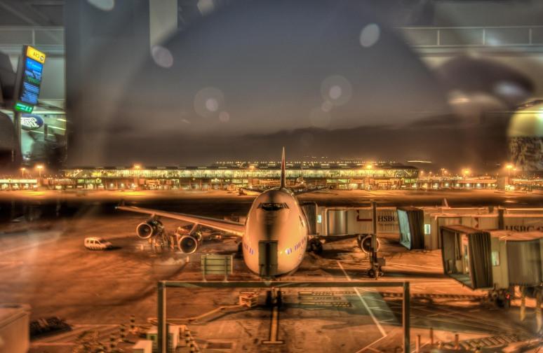 Departure Gate, Terminal 5 Heathrow