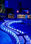 Toboggan run at Place des Arts