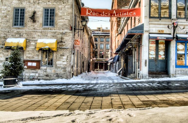 Rue Saint Amable AKA rue des Artistes