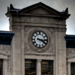 Grand Trunk Railway building clock