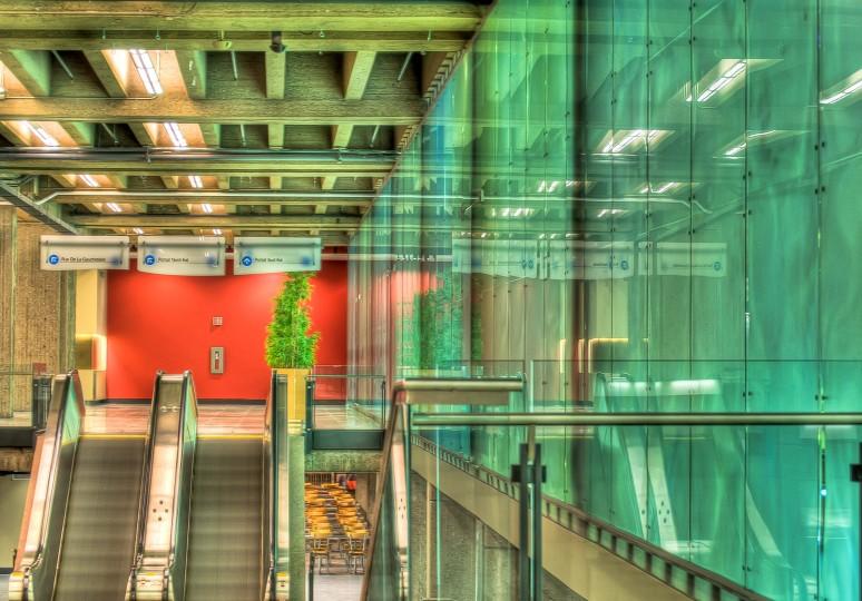 Place Bonaventure exhibition hall entrance