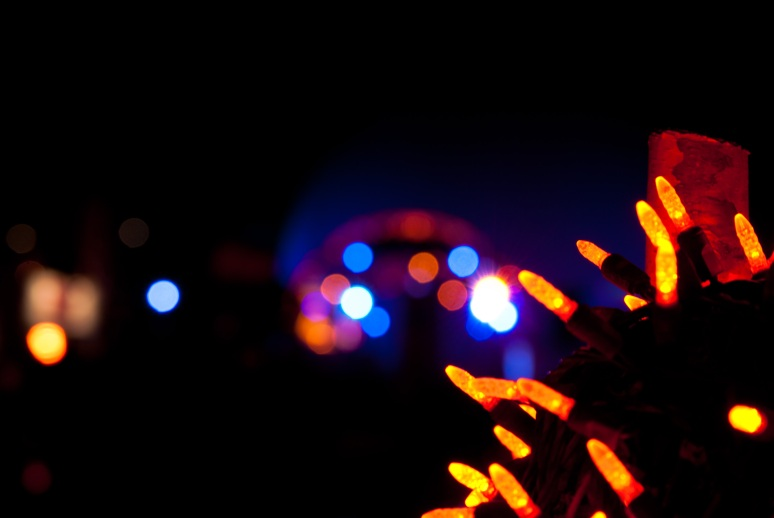 Attempt at some Bokeh outside Brasserie T