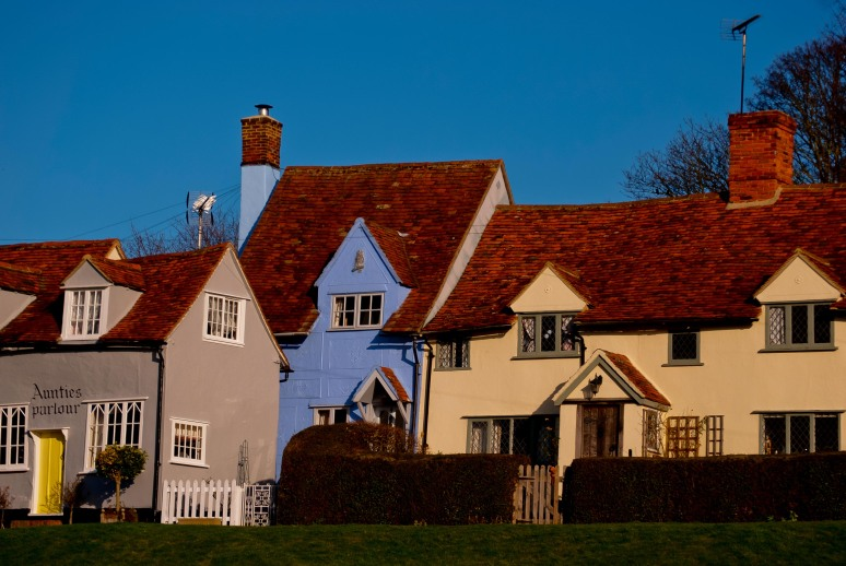 Cottages in Finchingfield, Essex