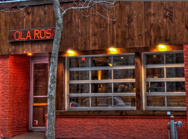 Lola Rosa Restaurant, Milton avenue