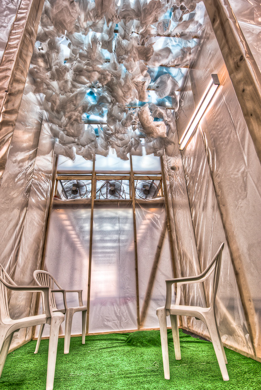 Katherine-Josée Gervais et Michel Moussette - En terrain nuageux exibit at Art Sousterrain 2012