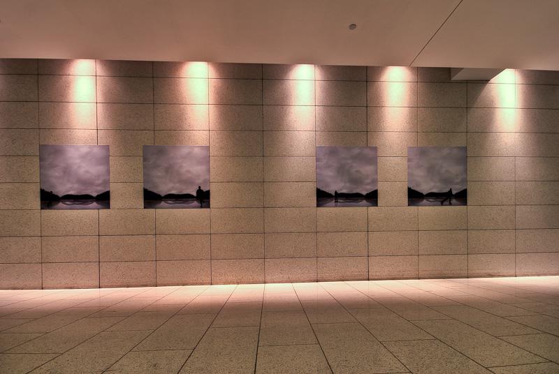 Catherine Bodmer - La bande de Moebius exhibit in Art Souterrain 2012