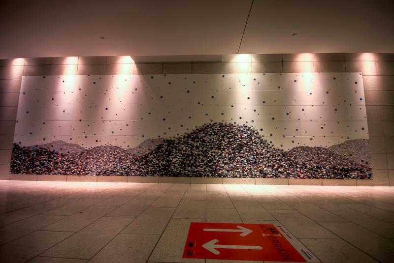 Noémie da Silva - Décharge (Dump) exhibit in Art Souterrain 2012