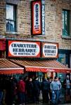 Schwartz's restaurant on boulevard Saint-Laurent
