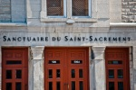 Entrance to the Eglise Notre-Dame-du-Tres-Saint-Sacrement