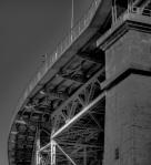 Jacques-Cartier bridge from rue Notre Dame est