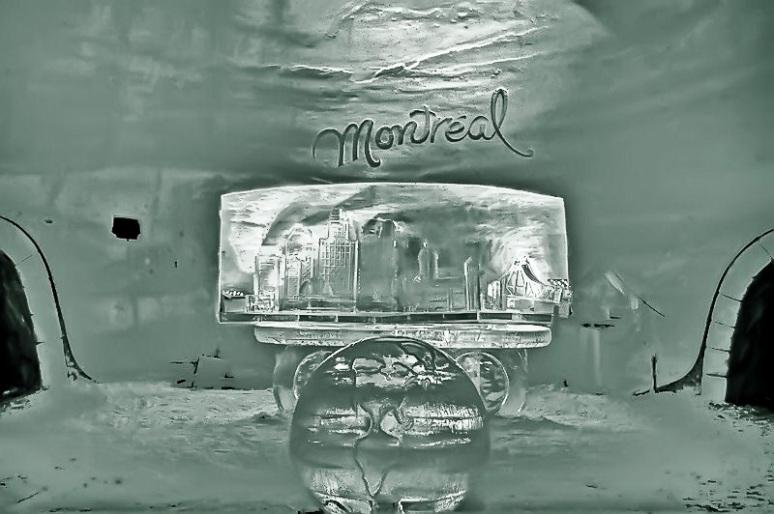 Montreal Ice Hotel Lobby