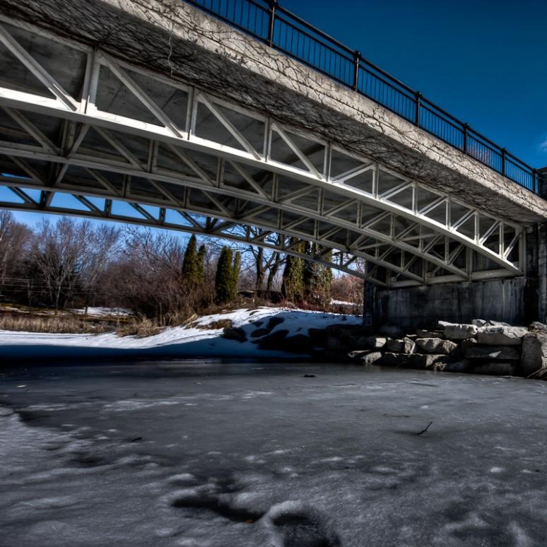 Bridge near to Lac Des Cygnes
