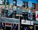NEON Store Mural on rue Saint Denis
