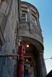 Entrance to the Musée des Pompiers Auxilliaires de Montréal