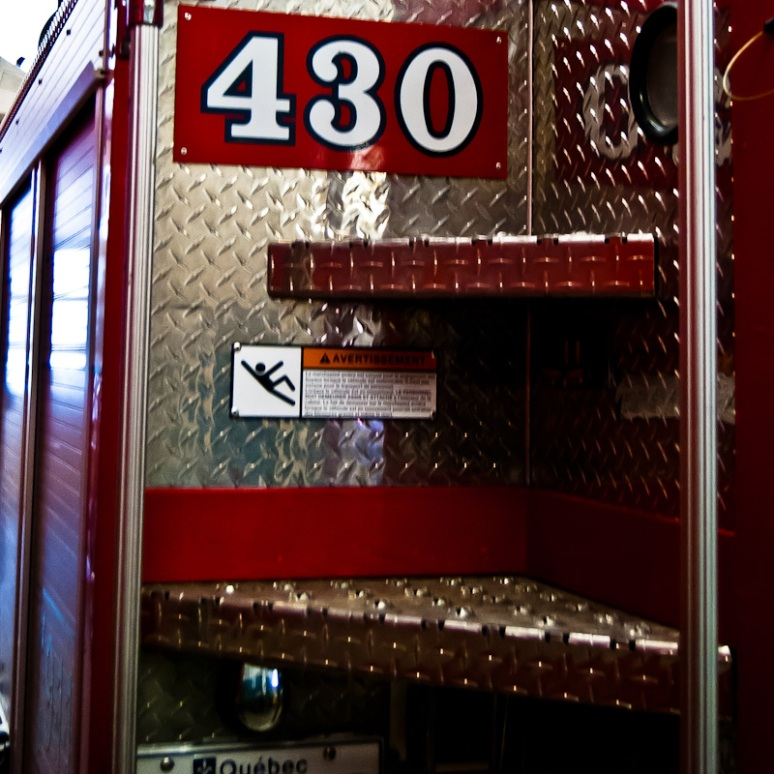 430 Fire Engine ID plate