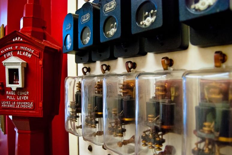 Original fire alarm system