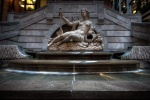 Statue of Amphitritis by French architect and sculptor Dieudonné-Barthélemy Guibal