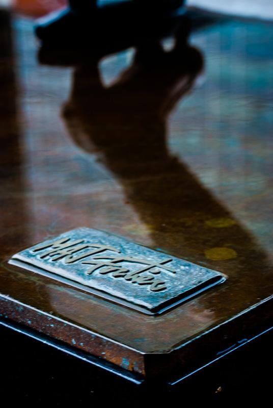 Sculptor Marc André J Fortier plaque