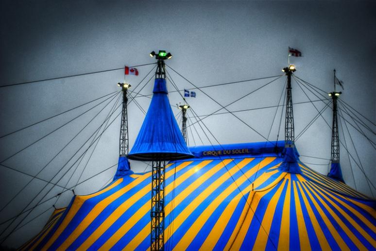 Cirque du Soleil Big Top for the Montreal Amaluna show