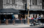 Café Cherrier on rue Saint Denis