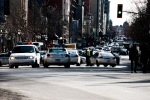 Police close Sherbrooke street