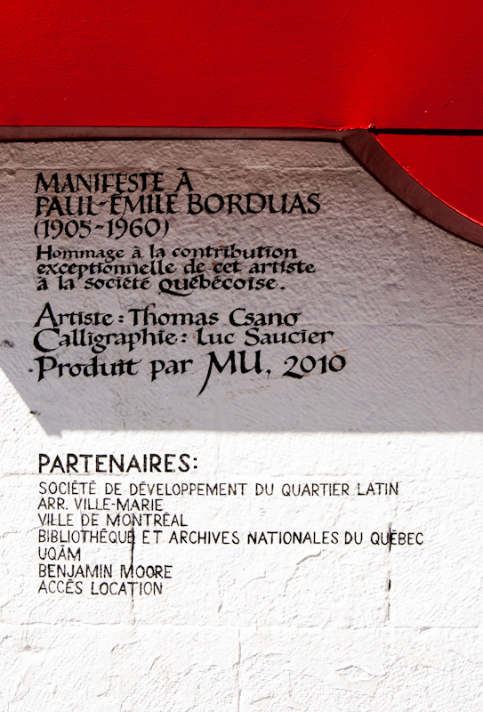 Manifeste à Paul-Émile Borduas