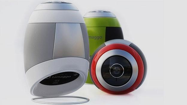Tamaggo 360-imager camera