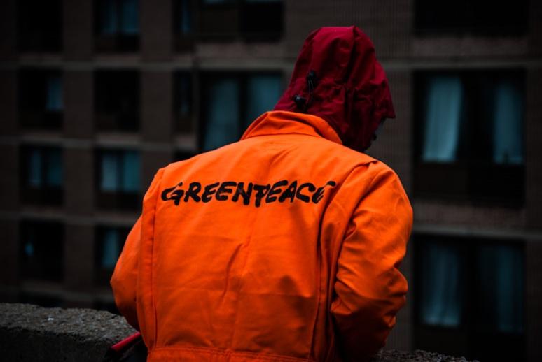 Member of Greenpeace