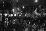 Thousands of Students march along rue Sherbrooke