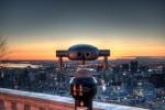 Hi Spy Viewing machine at sunrise