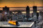 Sunrise over Montreal