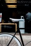 Apple fanboy bike