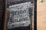 Belgo building sign