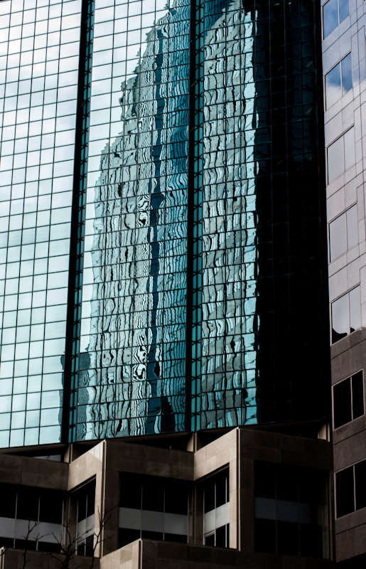 BNP Paribas building reflections