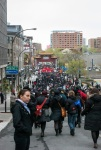 March heads through China Town