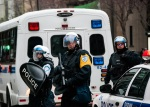 Riot Police on Sherbrooke street
