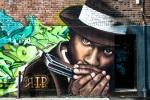 Mural on rue Clark