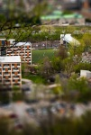 Tilt-shift experiment